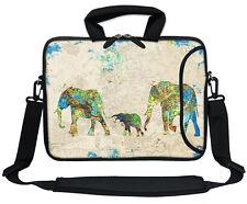 """11.6"""" 12.3"""" Neoprene Laptop Bag Case w. Side Pocket Shoulder Strap Handle  3122"""