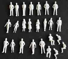 1:50 Scale Architecture White Model Figures People : Pack of 25/50/100