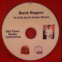 Buck Rogers in the 25th Century 12 Old Time Radio Audio Book OTR Sci-Fi MP3 CD