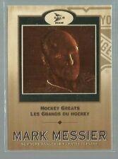 2001-02 McDonald's Pacific Hockey Greats #6 Mark Messier (ref50259)