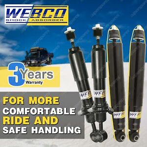 Front Rear Webco Pro Shock Absorbers for MAZDA 6 GY GG Sedan Hatch Wagon