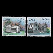 "Aland 2000 - Architecture ""Hilda Hongell"" House Buildings - Sc 170/1 MNH"