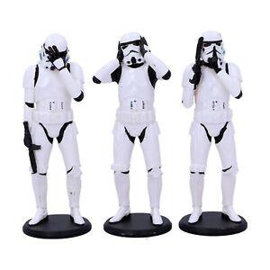 Star Wars Original Stormtrooper Figuren 3er Pack Statuen Three Wise NEU & OVP !!