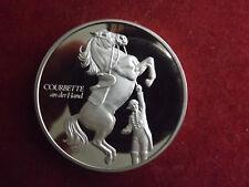 Silbermedaille 1972 ca.51mm-67g(925)*400 Jahre Spanische Hofreitschule zu Wien(1