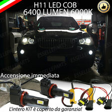 KIT FULL LED BMW X5 E70 LAMPADE H11 FENDINEBBIA CANBUS 6400 LUMEN 6000K NOAVARIA
