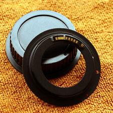 AF confirm M42 lens to Canon EOS camera for 70d 80d 5d3 650d 700d 750d with cap