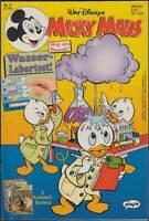Micky Maus Comic-Heft 5 + Beilage: Wasser-Labortest (23.1.1992) Z 1-2