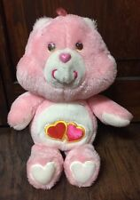 "Cute Vintage 1983 Kenner Care Bears ""Love-a-lot Bear"" 13"" Collectible Plush GVC"