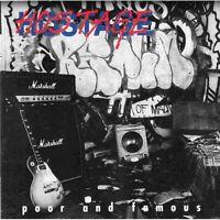 Hostage Poor & Famous CD 1995 Australian Indi Melodic Hard Rock Metal Mint Rare