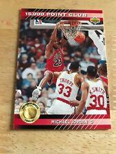 Michael Jordan NBA 1993 Upper Deck 15000 point club card NM-MT