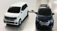 Honda N box custome Led Key Ring Minicar Novelty White Pearl, odyssey absolute