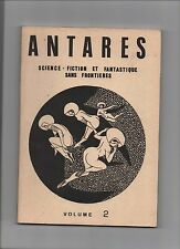 Antarès. Revue Fanzine de science-fiction et fantastique. Volume 2. 1981. MOUMON