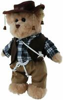 TIC TOC TEDDY JOLLY SWAGMAN BEAR JOINTED BEAR IN THE JOLLY SWAGMAN OUTFIT