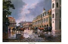 Rainy Evening  (New Orleans)  by Al Federico