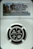 2019 S NGC Proof 70 UCAM Silver San Antonio Missions ATB Quarter☆☆Early Release
