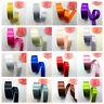 "1""(25mm)Wide 5 Yards Satin Ribbon Bow DIY Craft Sewing Supplies Pick Colors UK"