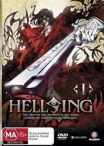 Hellsing Ultimate : Vol 1 (DVD, 2007)--FREE POSTAGE
