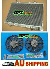 Aluminum Radiator + fan FORD Capri SA SB Turbo 89-95 90 91 92 93 94 95 1991