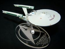acrylic replacement display base for Eaglemoss NCC-1701 refit Star Trek III SFS