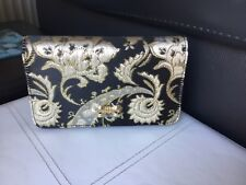 TED BAKER  LONDON ODELIAA ORNATE PAISLEY   EVENING BAG. BNWT