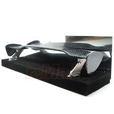 Slidelogy Shiny Carbon Pattern Spoiler Black Stands Type K 1:10 RC Car #SDY-0062