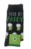 St. Patricks Day Crew Women's Socks Size 4-10 Here To Paddy