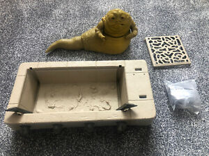 Vintage Star Wars Kenner 1983 Jabba The Hutt Playset Throne Pipe VGC Spare Parts
