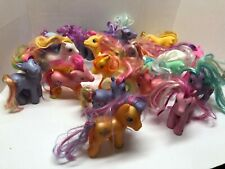 My Little Pony VINTAGE 17 Figures Lot