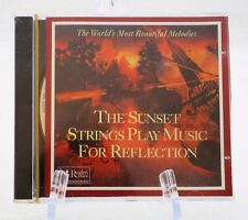 THE SUNSET STRINGS PLAY MUSIC FOR REFLECTION(18) SONGS (CD)- READER'S DIGEST-NEW