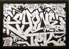 EYONE TPK UV.1 -graffiti signé sur papier - cope2/seen/taki/quik/crash/rd357/pro