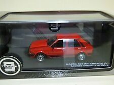 Triple 9 Collection Mazda 323 Hatchback 1982  red REF:T9-43056