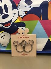 Earrings By Junk Food New Micky Mouse Icon