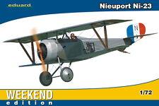 eduard Nieuport Ni 23 Russian Imperial Air Force Kibanov 1917 Modell-Bausatz1:72
