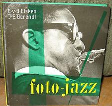 Ed Van Der Elsken Foto Jazz Original 1959 HC Miles Davis Louis Armstrong