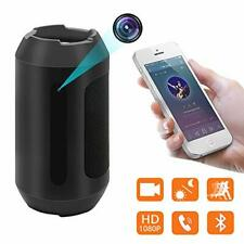 Bluetooth Speaker Hidden Camera,1080P Spy Camera Motion Detection Security Video