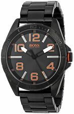 Hugo Boss Men's 1513001 'Berlin' Black Stainless Steel Watch