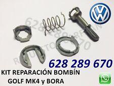 Kit  set reparación bombín cerradura Volkswagen Golf mk4 4 IV y Bora 1997 - 2006