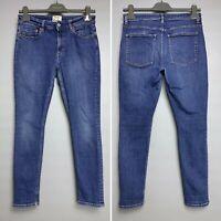 ACNE STUDIOS Blue Denim Jeans Size W30 L32 SKIN 5 DARK VTG Cotton Skinny Pants