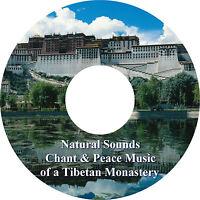 Natural Sounds Chants & Peace Music of a Tibetan Monastery CD Relaxation Healing