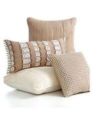 martha stewart solid pattern decorative bed pillows