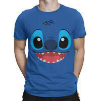 Lilo And Stitch Funny T-Shirt, Cartoon Disney Tee, Men's All Sizes