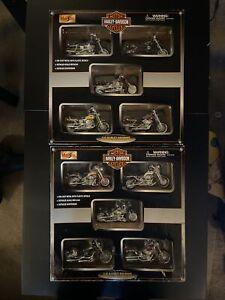 Maisto Harley Davidson 2001 Multi Packs Lot Rare