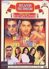 AWARA PAAGAL DEEWANA (AKSHAY KUMAR, SUNIL SHETTY, AAFTAB) - BOLLYWOOD DVD