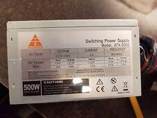 * New * GF 500W POWER SUPPLY (12CM FAN)( 90 Day Warranty )