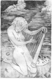 """""""Song of Self"""""""" copper engraving"""