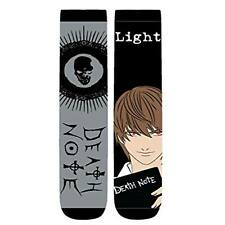 Death Note Light Yagami 2 Pairs Of Crew Long Socks NEW Apparel