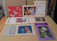 New Listing8) Disney's Commemorative Lithograph Litho Prints