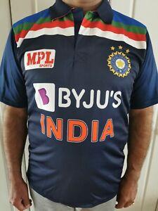 BRAND NEW & SEALED INDIA CRICKET SHIRT/JERSEY 2021, ODI, T20, WORLD CUP BYJU'S