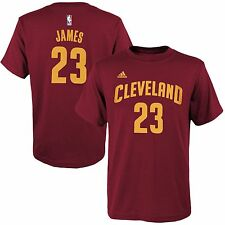 $30) ADIDAS Cleveland Cavs LeBRON JAMES Jersey Shirt Adult WOMENS/LADIES s-small