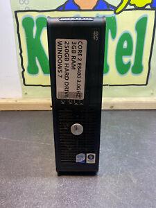 Dell Optiplex 760 Intel CCORE 2 E8400 3GB 250GB WINDOWS 7 CHEAP MINI PC SFF DVD